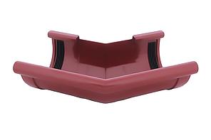 Угол желоба наружный красный 135° 130/100 Profil