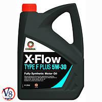 Масло моторное Comma X-FLOW TYPE F PLUS 5W-30 синтетическое SL/CF Ford (XFFP4L) 4л