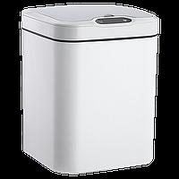 Сенсорное мусорное ведро JAH 15 л квадратное белый