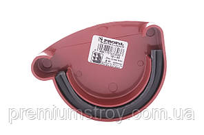 Заглушка ринви червона ліва Profil 130/100