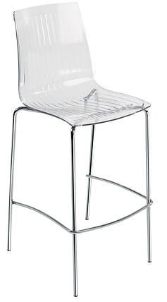 Барный стул Papatya X-Treme BSL прозрачно-чистый, фото 2