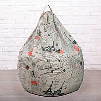 Новинка! Кресло мешок груша из Эко-Жаккарда.