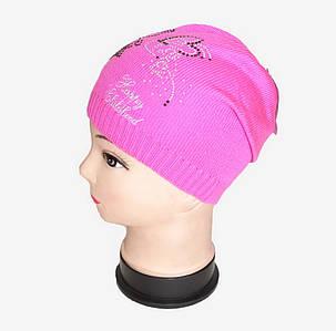 Детская шапка тонкая вязка (WD14121/01) | 5 шт., фото 2