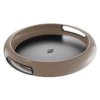 Поднос круглый Wesco Spasy Tray коричневый 322101-57
