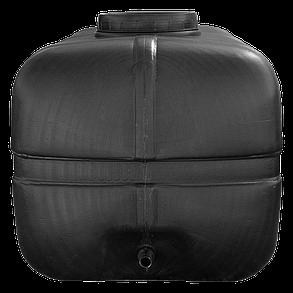 Бочка 250 л прямоугольная непищевая черная, фото 2