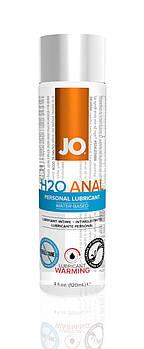 Анальная смазка System JO ANAL H2O - WARMING (120 мл) разогревающая, на водной основе