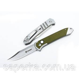 Нож складной  Ganzo G719, зеленый, черный , фото 2