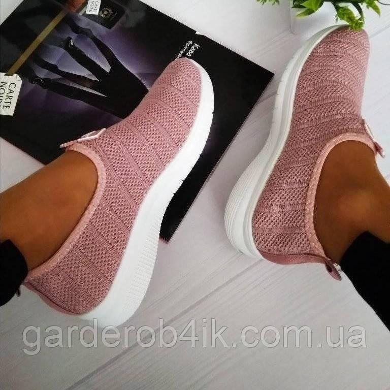 Жіночі кросівки літні взуттєвий текстиль