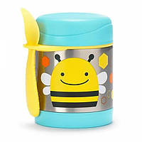Skip Hop Zoo Детский термос кружка для еды пчелка 252379 Brooklyn Bee Little Kid and Toddler Insulated Food