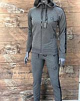 Женский спортивный костюм Calvin Klein серый. Жіночий спортивний костюм Calvin Klein сірий.