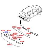 Кліпса молдинга двері багажника кіа Спортейдж 4 за 1шт., KIA Sportage 2016-20 QLe, 9255236000, фото 3