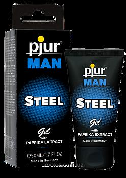 Гель для пениса стимулирующий pjur MAN Steel Gel 50 ml