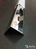 Угол уголок из нержавейки 20х20 кутник з нержавiйкi 2,5м