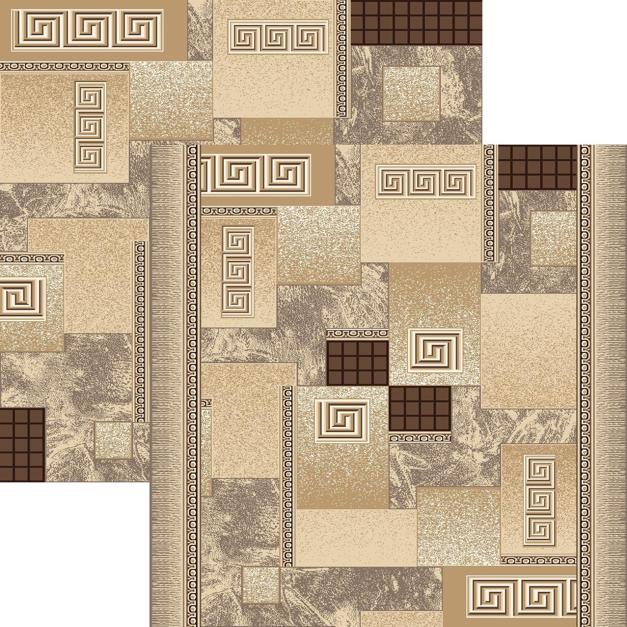 Бытовой ковролин для спальни Напол №1286/103е2