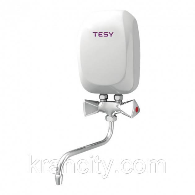 Эл. проточный водонагреватель TESY со смесителем 5,0 кВт (IWH 50 X02 KI)