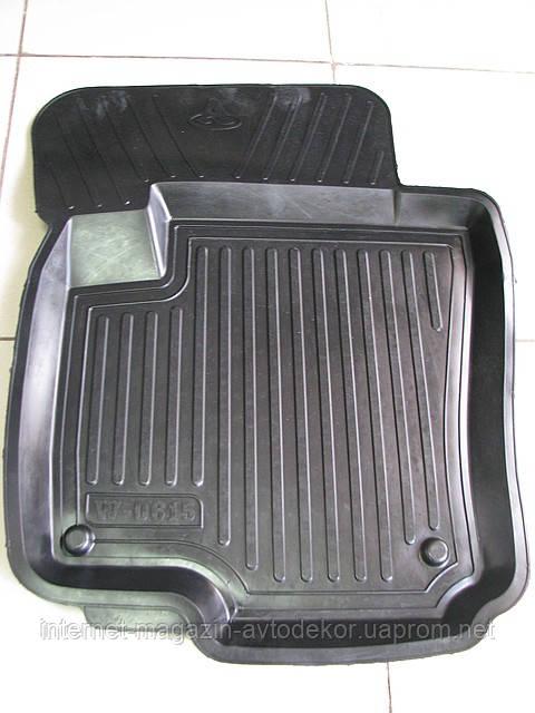 Коврики автомобильные для Peugeot (Пежо), резиновые с бортами