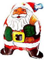 Фольга большая Санта клаус 901518
