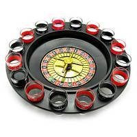 Алко-игра Рулетка 16 рюмок (стекло)