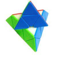 Пирамидка Qiyi-Mofange цветная