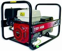 Бензиновый генератор AGT 7201 HSB PL