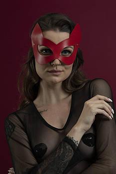 Маска кошки Feral Feelings - Kitten Mask красная
