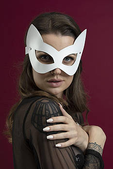 Маска кошки Feral Feelings - Kitten Mask белая