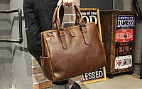 Мужская кожаная сумка. Модель 61216, фото 10