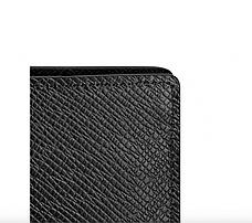Бумажник Louis Vuitton Brazza Taiga Black, фото 2
