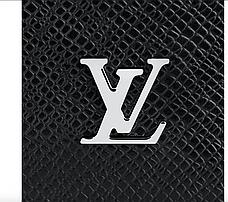 Бумажник Louis Vuitton Brazza Taiga Black, фото 3