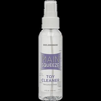 Очищающее средство для игрушек Doc Johnson Main Squeeze - Toy Cleaner (118 мл)
