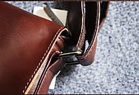 Мужская кожаная сумка. Модель 61223, фото 10