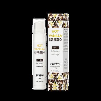 Стимулюючий гель для ерогенних зон EXSENS Kissable Hot Vanilla Espresso 15мл