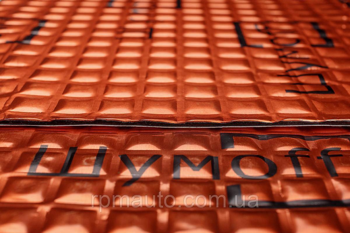 Шумоізоляція Авто ШУМОФФ М3 мм 27х37 см Обесшумка Віброізоляція Шумка Шумоізоляція Виброшумоизоляция для Авто