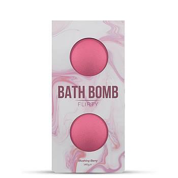 Набор бомбочек для ванны Dona Bath Bomb - Flirty - Blushing Berry (140 гр)