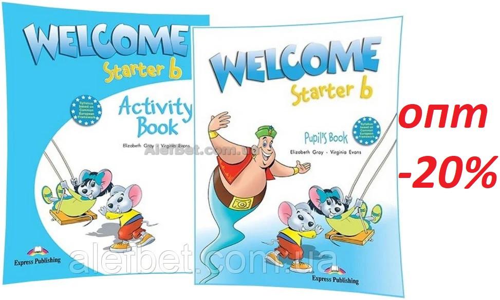 Английский язык / Welcome / Pupil's+Workbook. Учебник+Тетрадь (комплект), Starter B/ Exspress Publishing