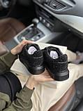 Женские кеды Alexander McQueen PA130 черные, фото 9