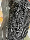 Женские кеды Alexander McQueen PA130 черные, фото 10