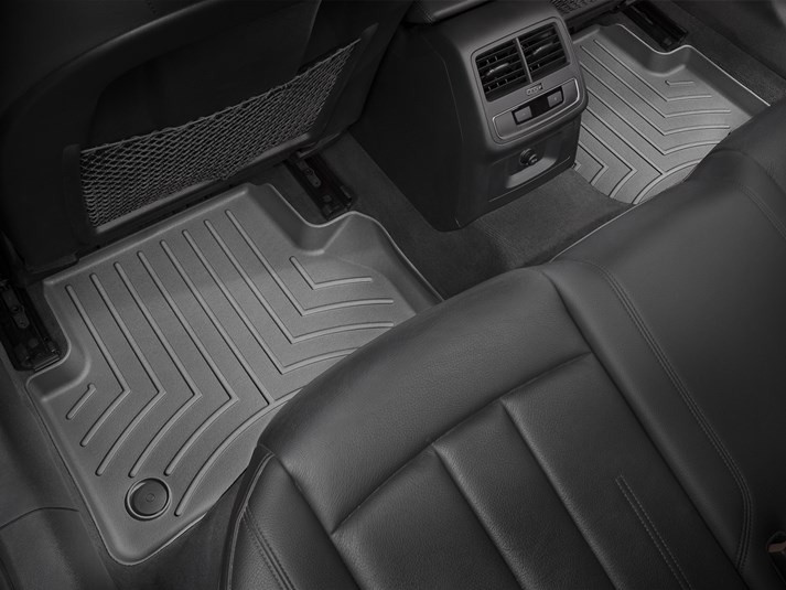 Ковры резиновые WeatherTech задние черные Audi A4 16+