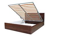 Кровать с подъемным механизмом Кармен полуторная с ортопедическими ламелями