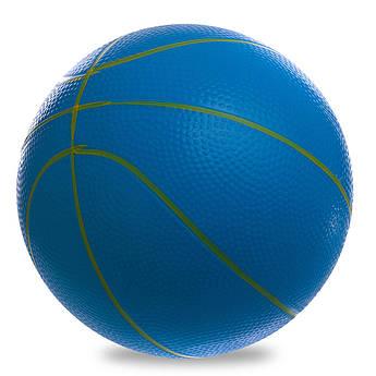 Мяч резиновый Баскетбольный LEGEND (винил, вес-200г, d-22см, цвета в ассортименте)