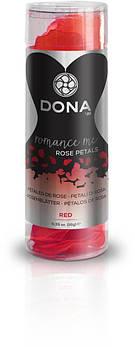Декоративные лепестки розы DONA Rose Petals Red
