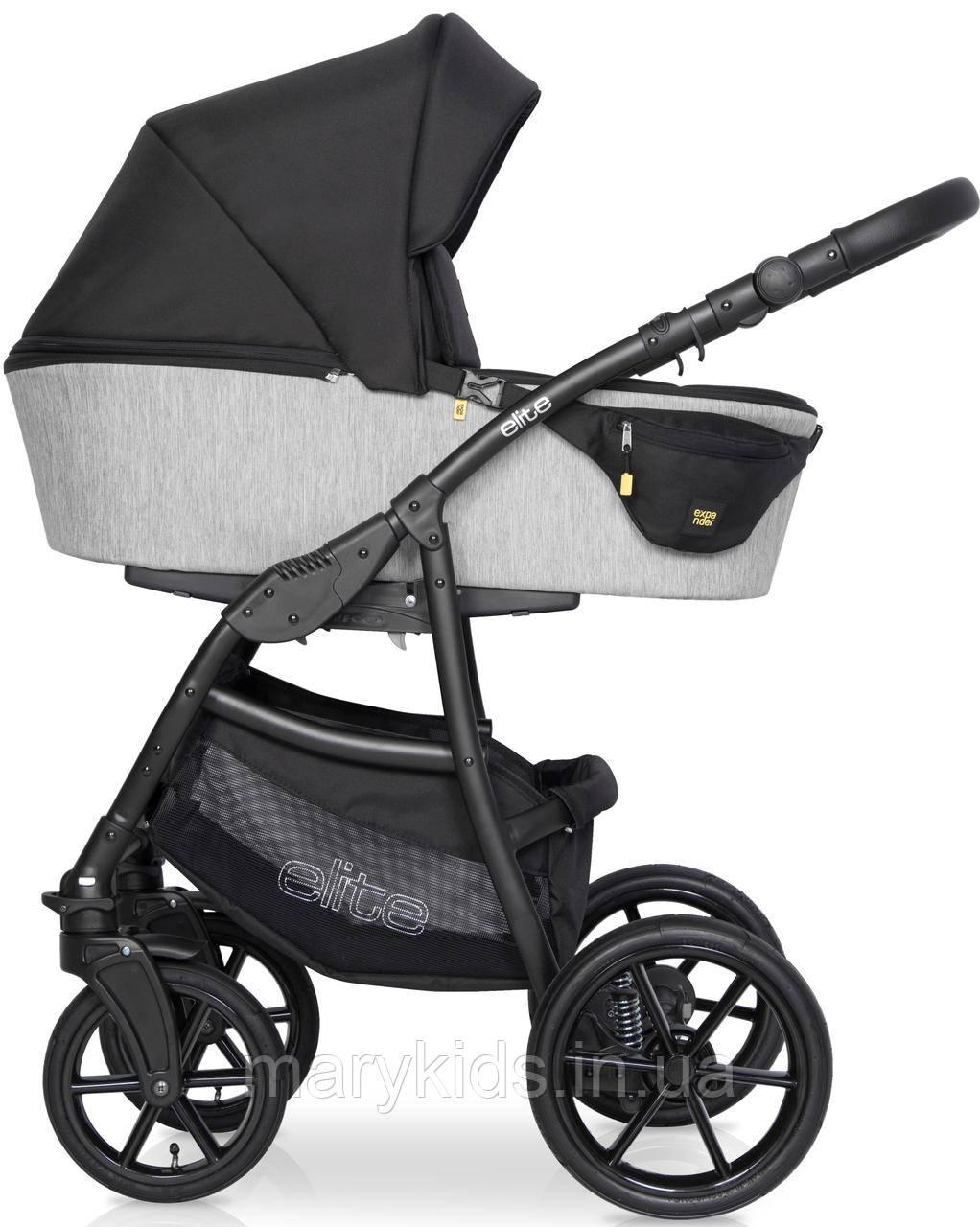Детская универсальная коляска 2 в 1 Riko Elite 03 Silver