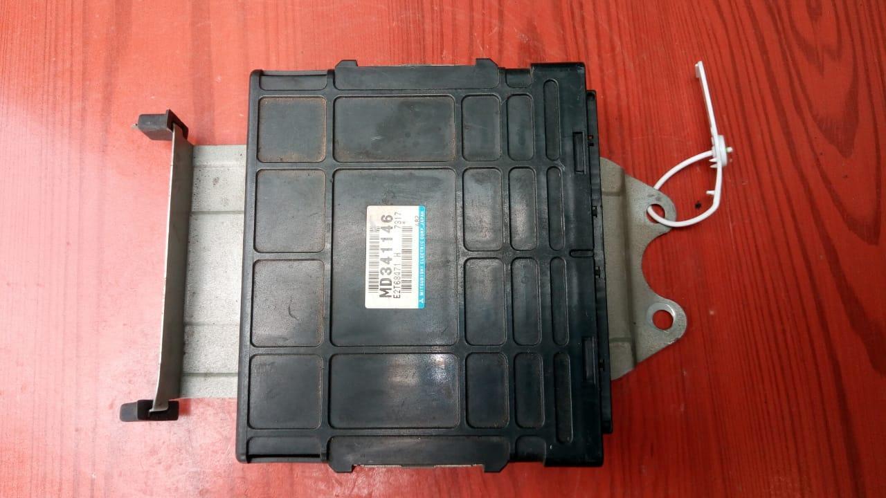 Блок управления двигателем (ЭБУ) MD341146 74078748 Carisma Mitsubishi