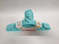 Вешалка-плечики akay, голубая