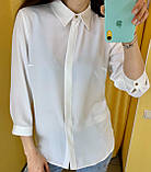 Рубашка Жін. 38(р) білий 120-1542 Туреччина Весна-C, фото 2