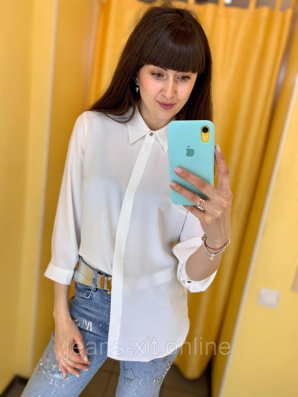Рубашка Жін. 38(р) білий 120-1542 Туреччина Весна-C