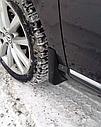 Брызговики MGC Volkswagen Passat B7 (Фольксваген Пассат) 2011-2015 г.в. комплект 4 шт 3C0075111, 3C0075101, фото 5