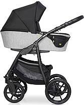 Дитяча універсальна коляска 2 в 1 Riko Elite 03 Silver