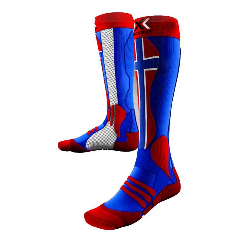Компресійні термошкарпетки X-bionic X-socks Ski Patriot Norway   троянд. 42-44