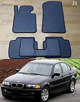 Коврики на BMW 3 E46 '98-06. Автоковрики EVA, фото 1